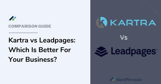 Kartra vs Leadpages Comparison