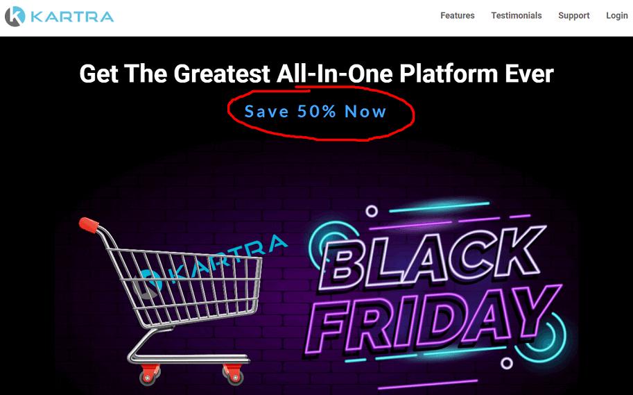 Kartra Black Friday Deal