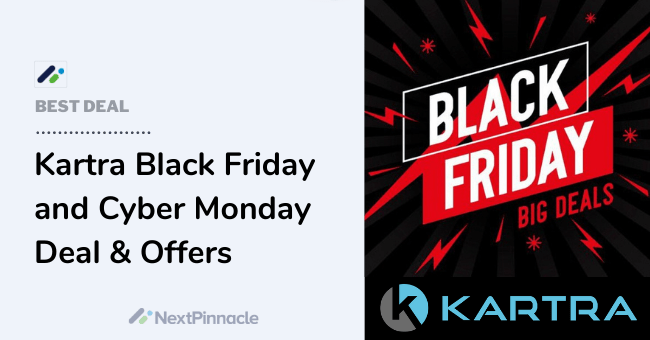 Kartra Black Friday Sale