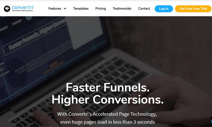 convertri lead generation sales funnel