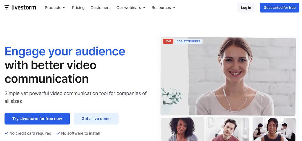 livestorm top webinar platforms
