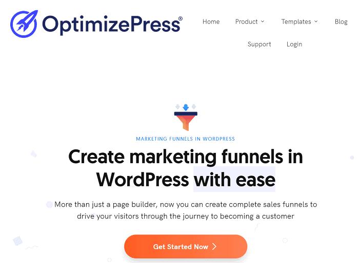 optimizepress funnel building software