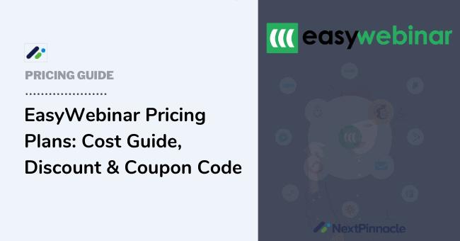 EasyWebinar Pricing Plans