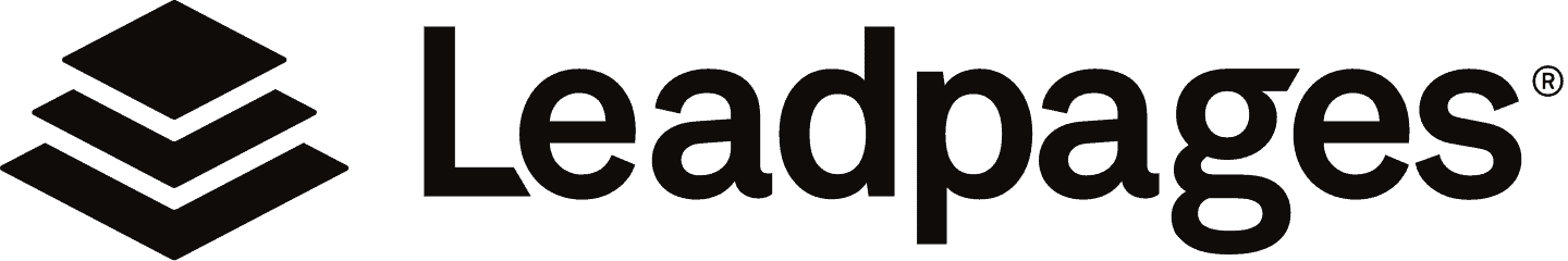 Leadpages Logo Black