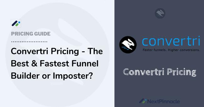 Convertri Pricing Plan