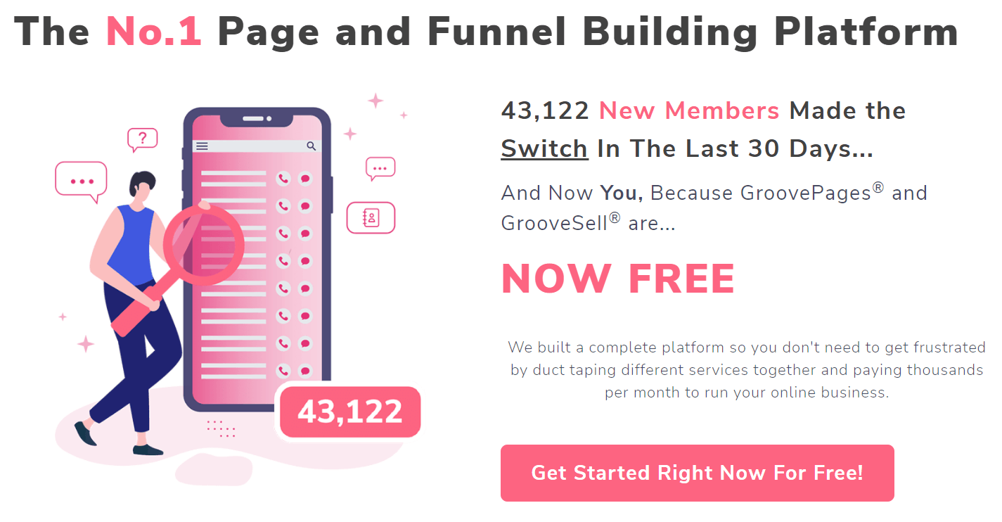 GrooveFunnels Sales Funnels Builder