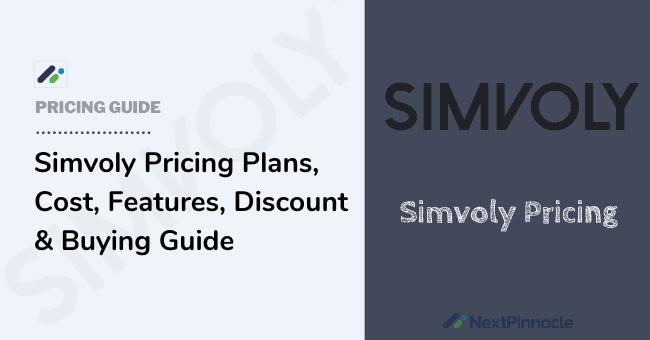 Simvoly Pricing Plan