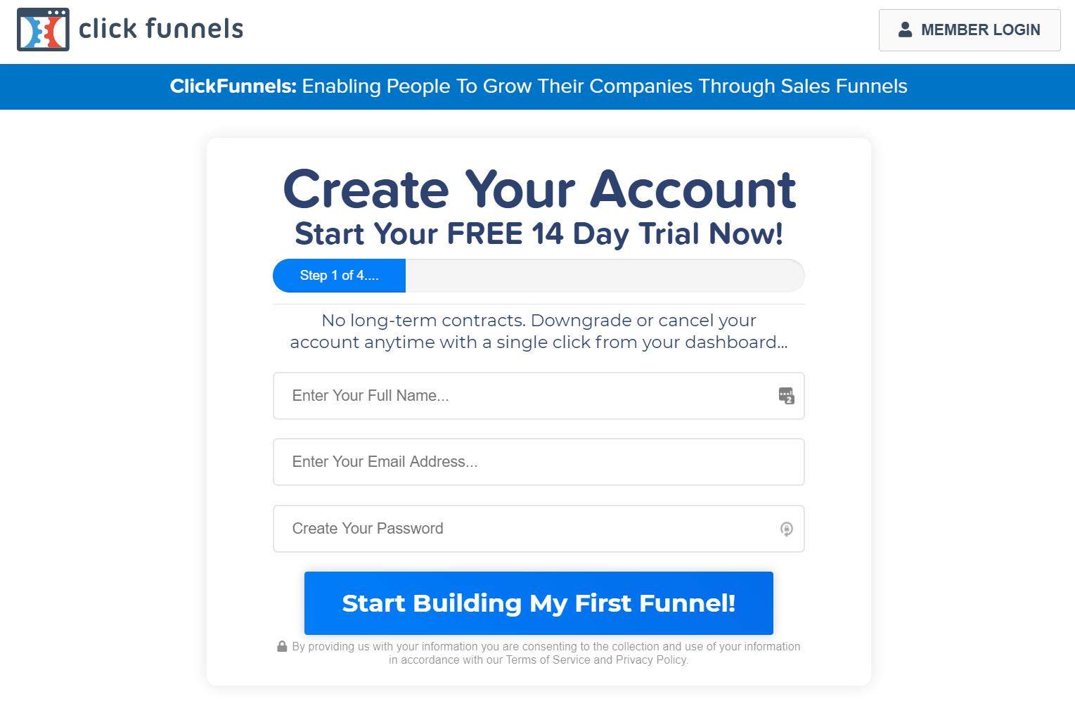 clickfunnels 14 day trial