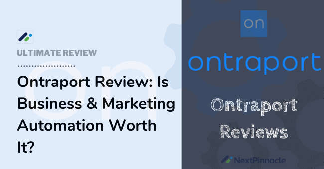 Ontraport Reviews
