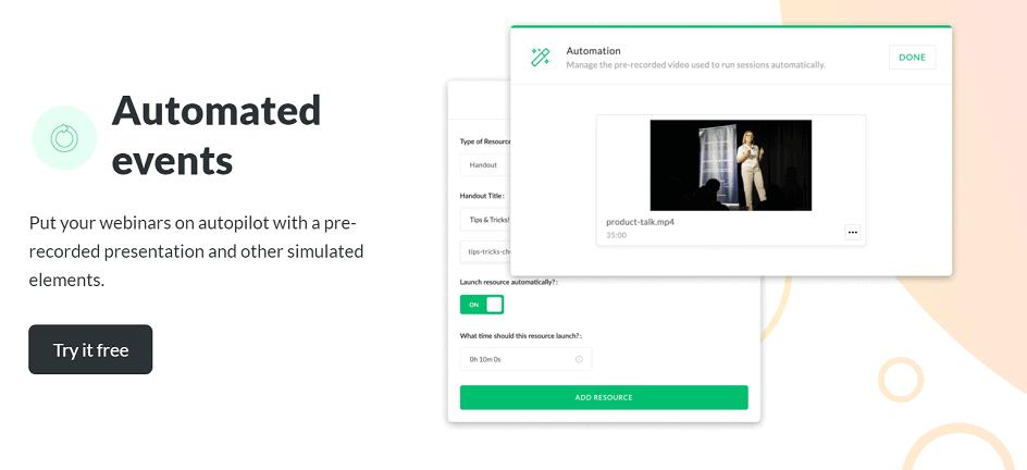 Demio Automated Webinars