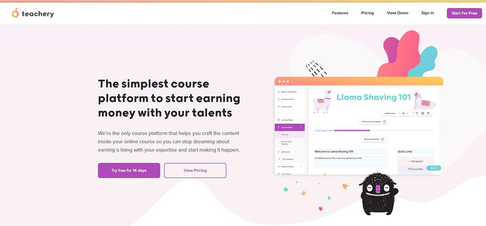 Teachery online course builder