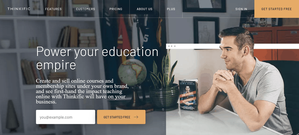 Thinkific online course platforms