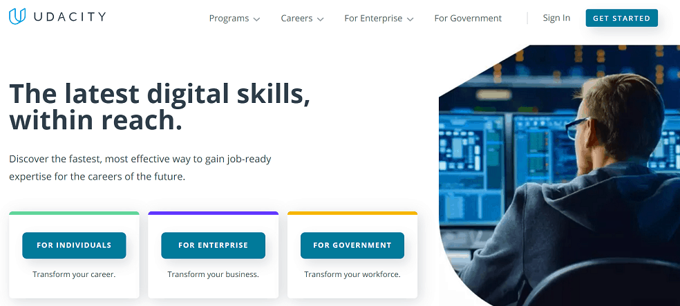 Udacity Courses for Real Employable Skills