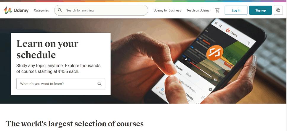 Udemy best online learning platforms