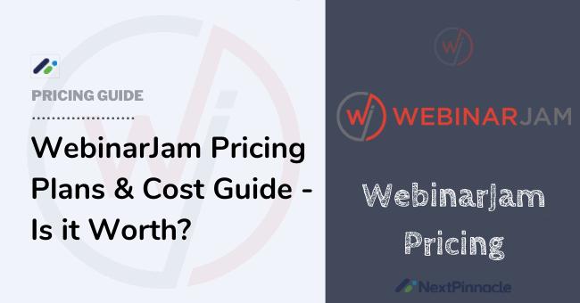 WebinarJam Pricing Plan