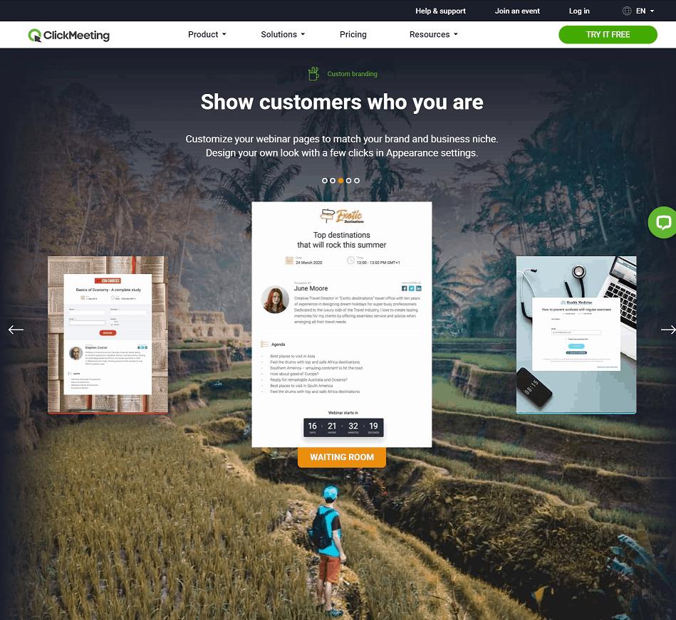 ClickMeeting Custom Branding