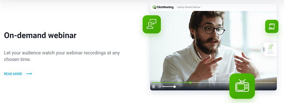 ClickMeeting On Demand Webinar