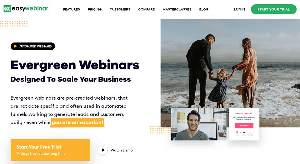 EasyWebinar Automated Webinar