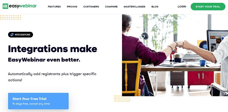 EasyWebinar Integrations