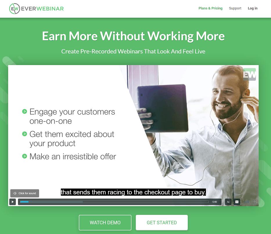 EverWebinar Features