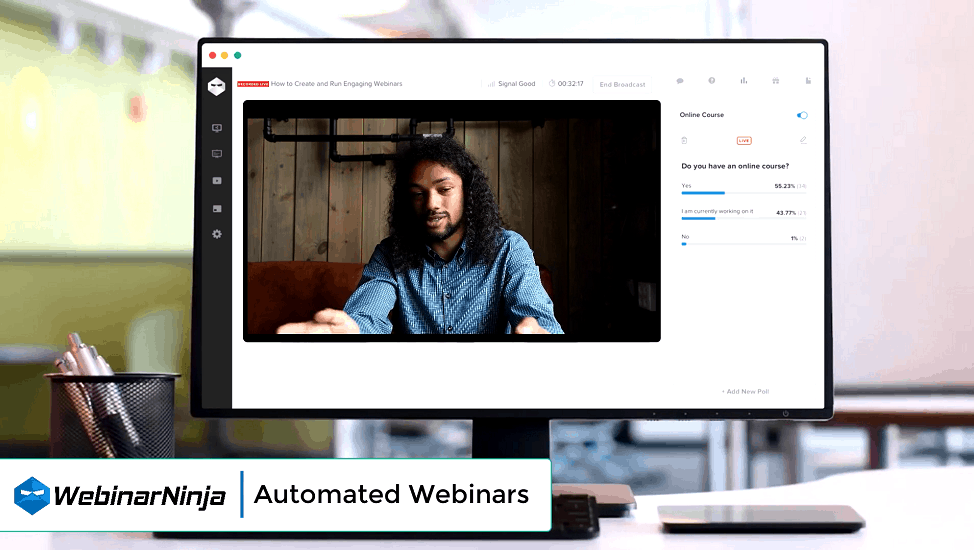 WebinarNinja Automated Webinar