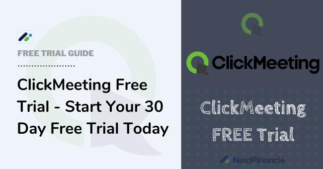 ClickMeeting Free Trial